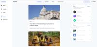Coinbase newsfeed
