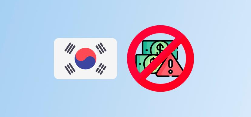 South Korean authorities recorded an increase in illegal cryptocurrency transactions