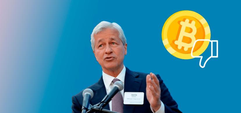 The head of JPMorgan criticized Bitcoin